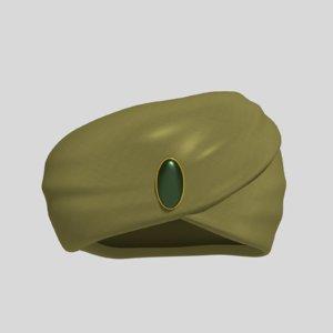 arab indian india 3D model