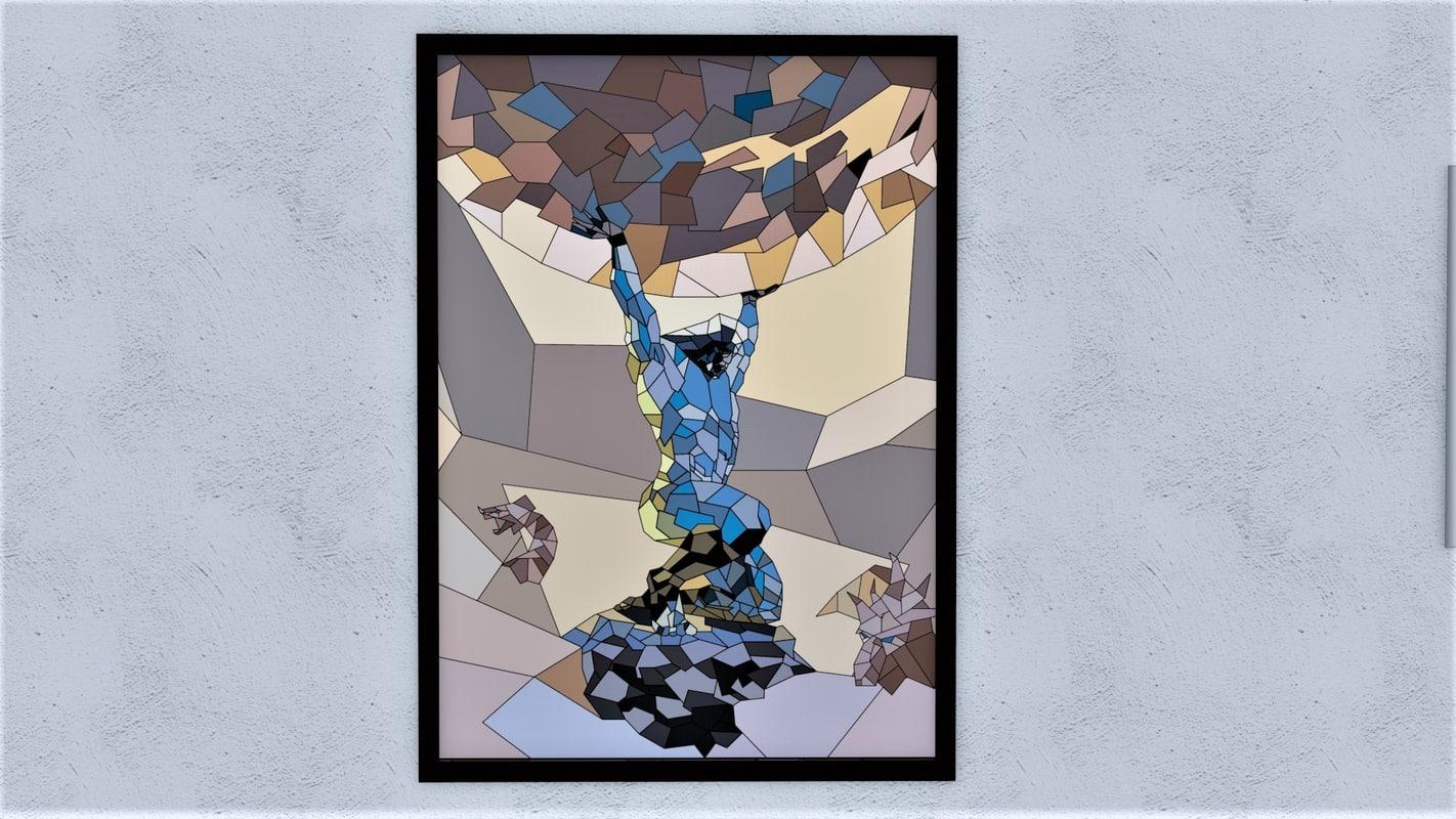 Atlas Geometric Painting
