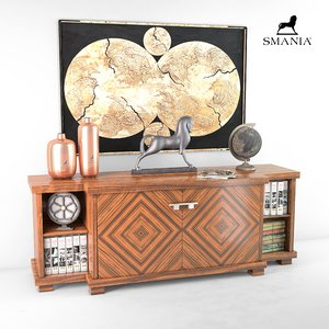 chester smania chest 3D