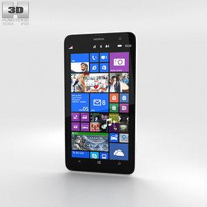 nokia lumia 1320 3D model