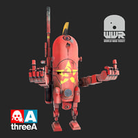 world war robot ussr 3D
