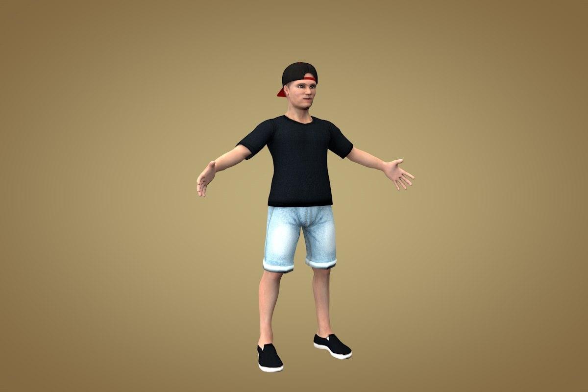 guy teen teenage model