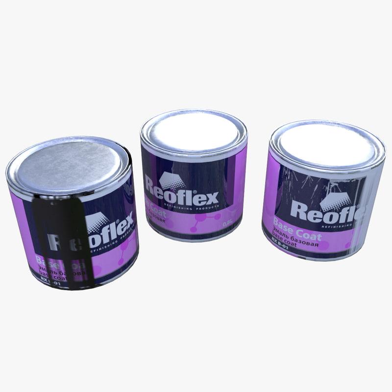 cans paint 3D