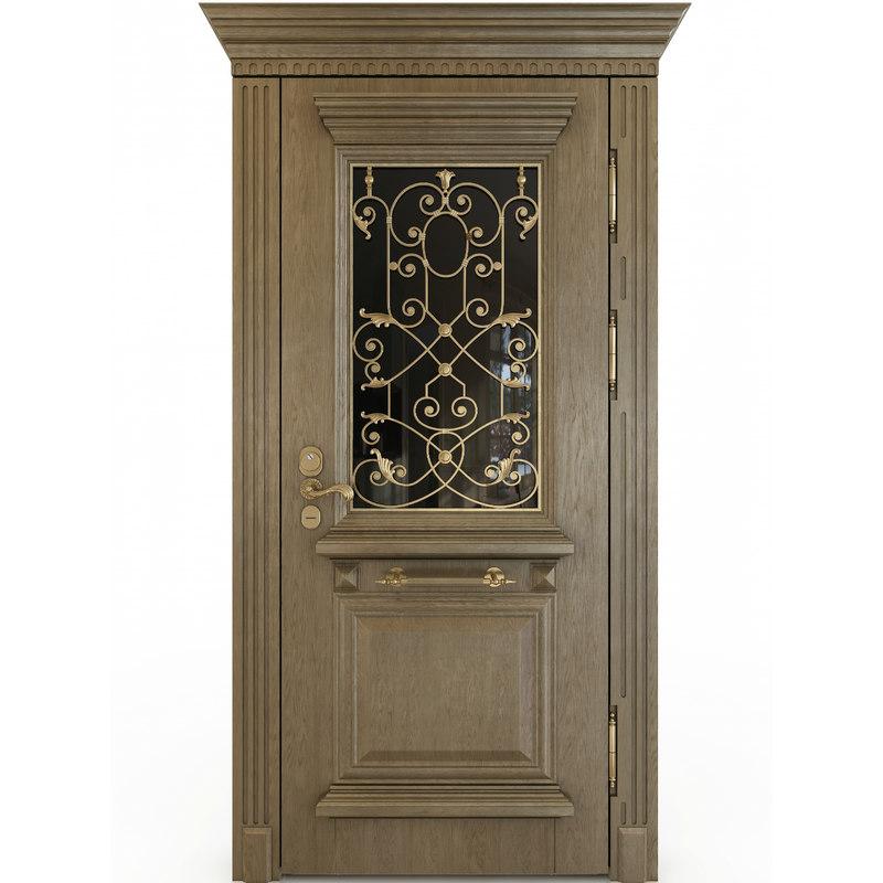 3D oak door