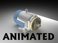 Animated electric engine