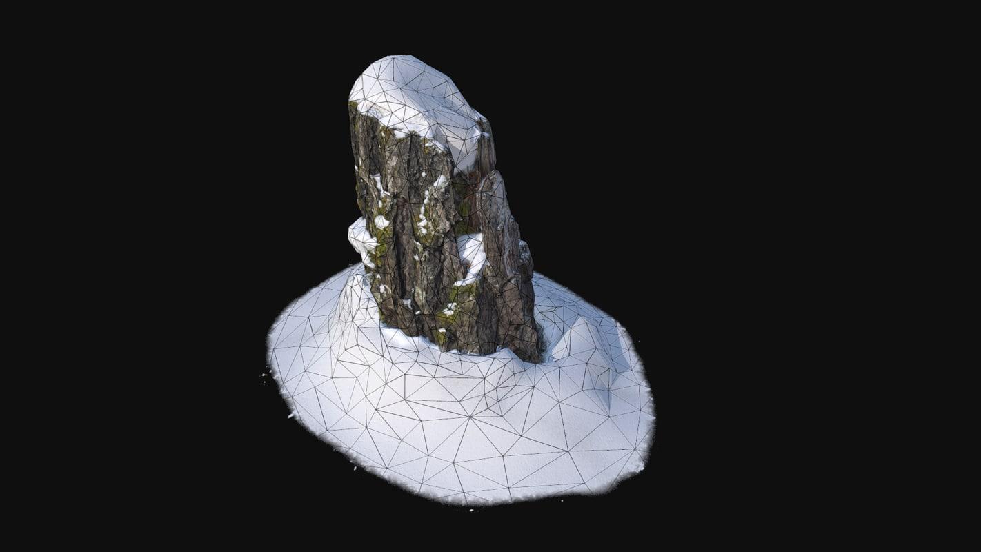 3D trunk scanned