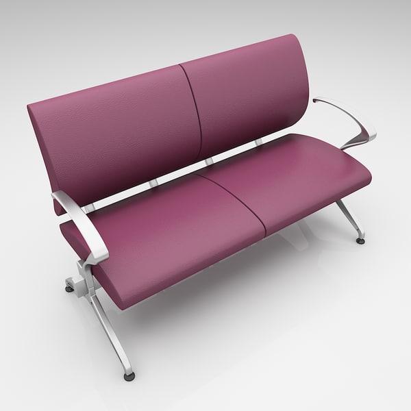 modern seating 3D