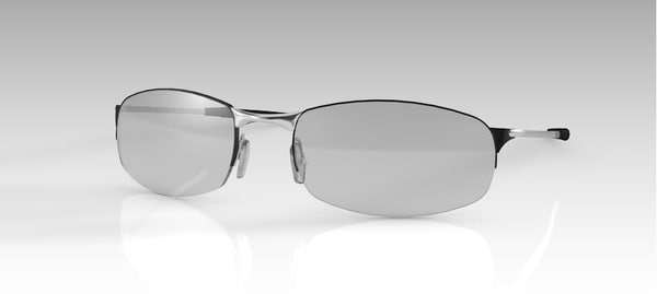 eye eyeglasses glass 3D model