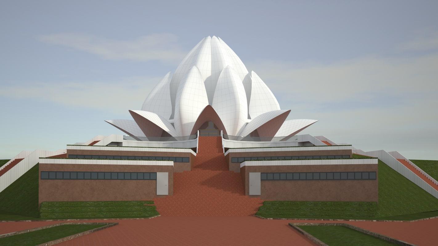 3D model realistic temple