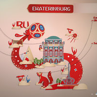 3D ekaterinburg russia model