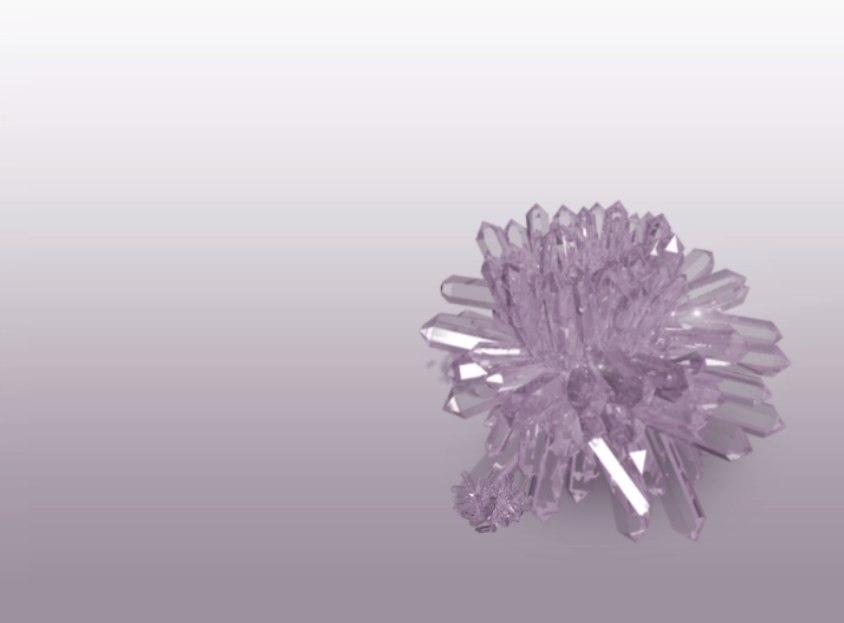 quartz 3D model
