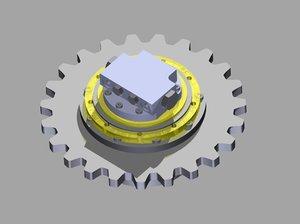 final drives gears 3D model