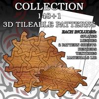 pattern 1 set tile model