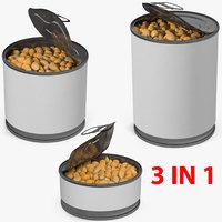corn kernels 3D