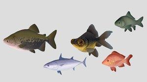 fish 02 3D model