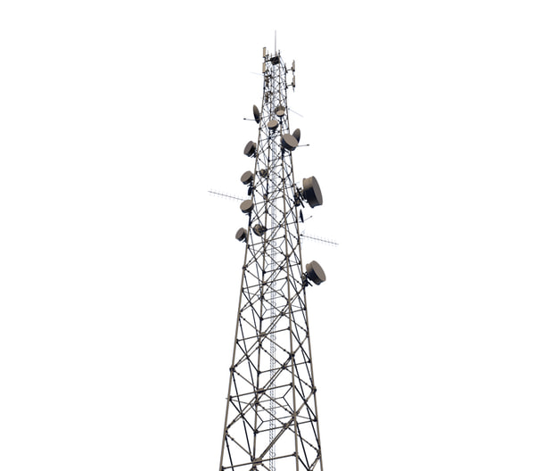 telecommunication tower telecom 3D