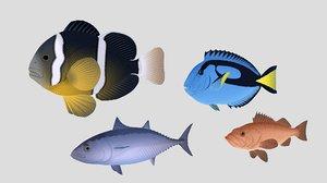 3D model fish 04