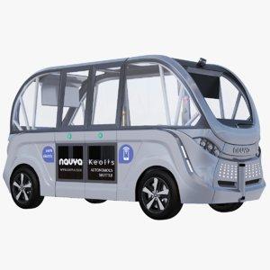 navya bus 3D