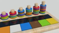 3D woodentoys wooden toys