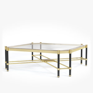 3D model eichholtz coffee table florence