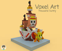 nanoblock thousand sunny model