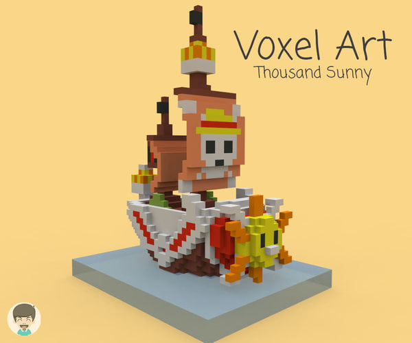 nanoblock thousand sunny model