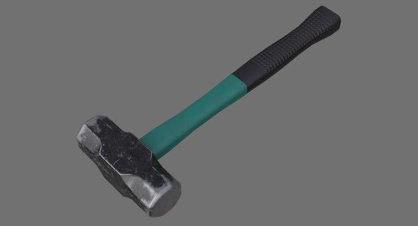 sledgehammer 1b 3D model