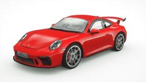porsche 911 gt3 2018 model