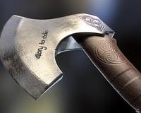 Scandinavian axe