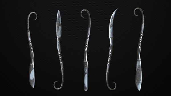 3D 5 scalpels