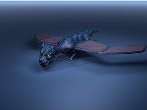 mythical dragon 3D model