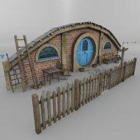 halfling home 3D model