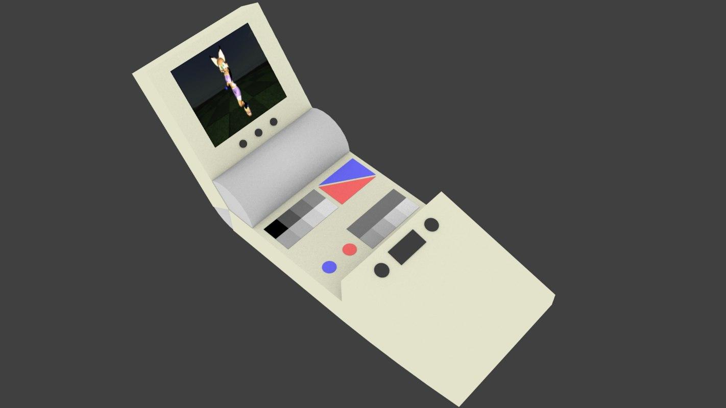 sally handheld 3D