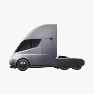 3D tesla truck