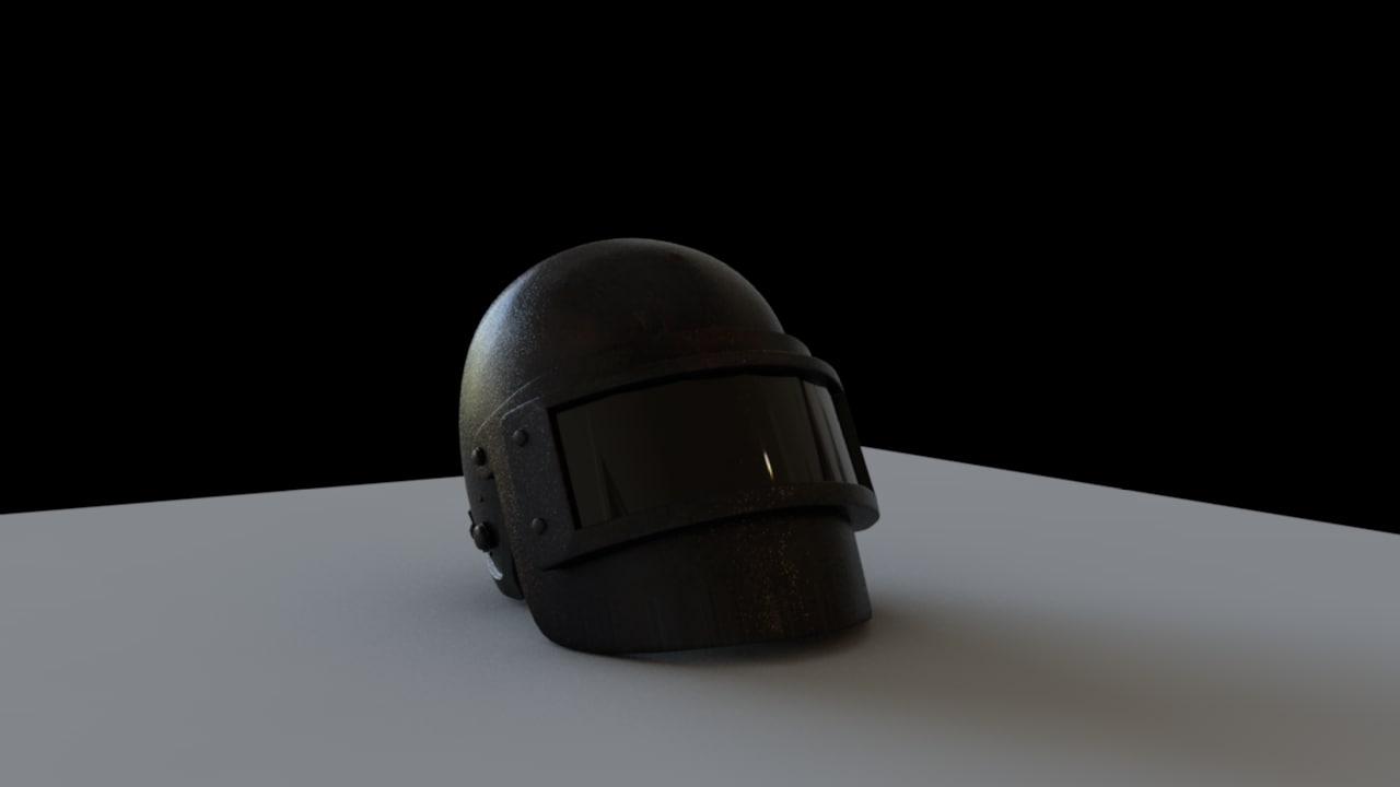 Pubg Helmet: Helmet Lvl 3 Pubg Model