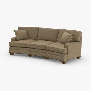classical-corner-sofa 3D