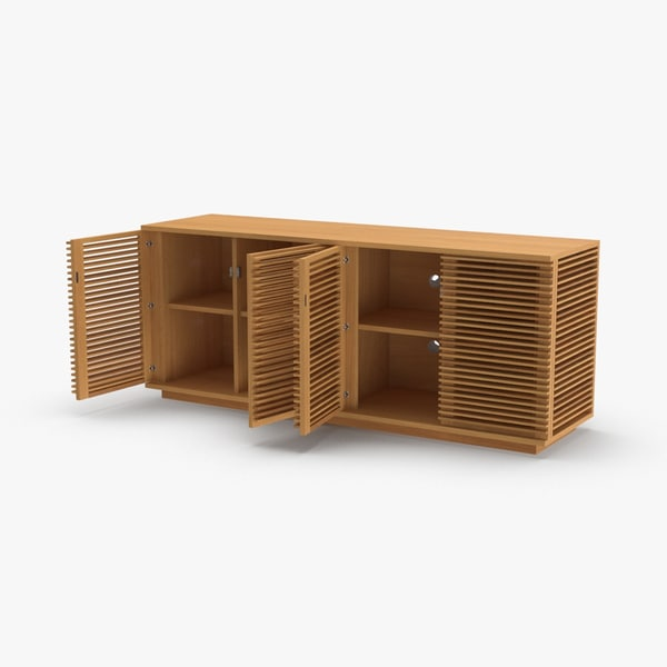 3D modern-sideboard