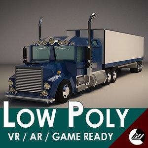 3D blender virtual reality model