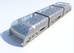 3D concept future bus -