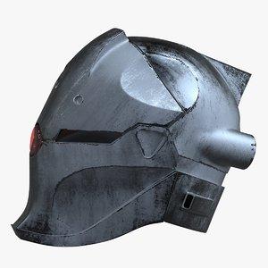 3D grayfox helmet redesign model