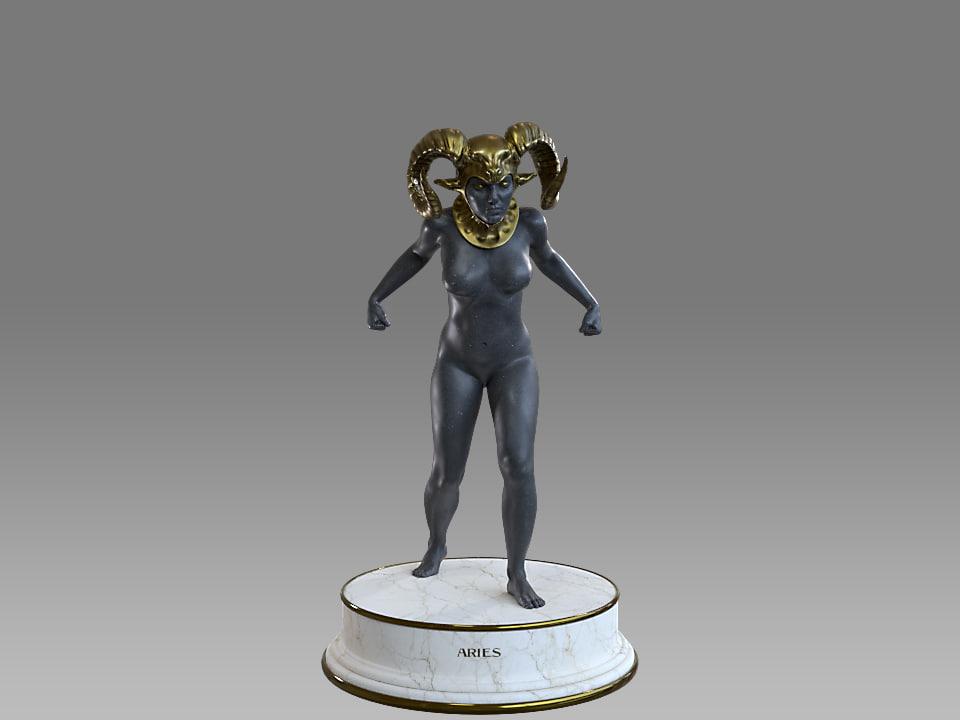 Zodiac Sign Female Aries