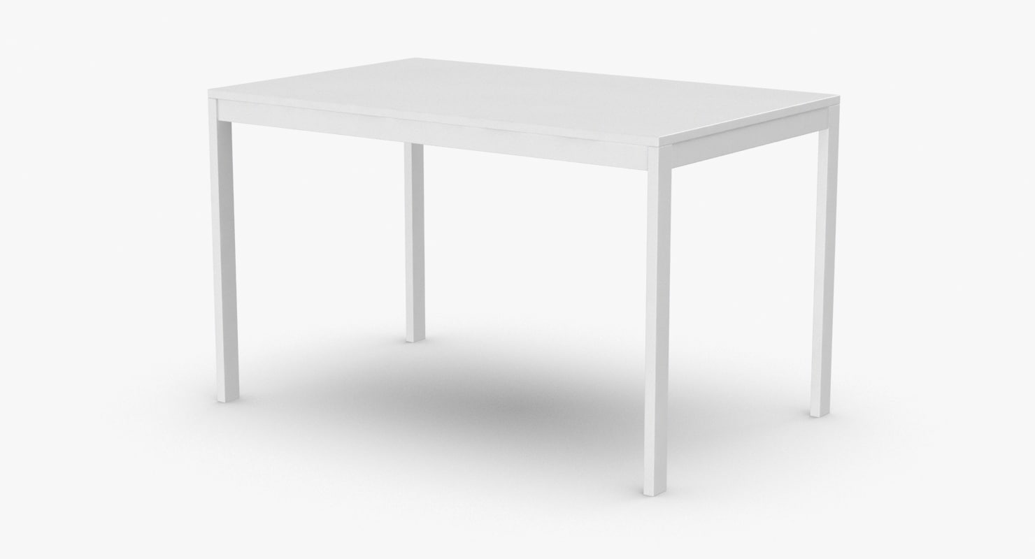 scandinavian-dining-table 3D model