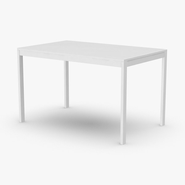 scandinavian-dining-table 3D model