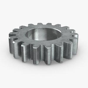 industrial-gears-02---gear-01 3D model