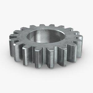 industrial-gears-02---gear-01 3D model