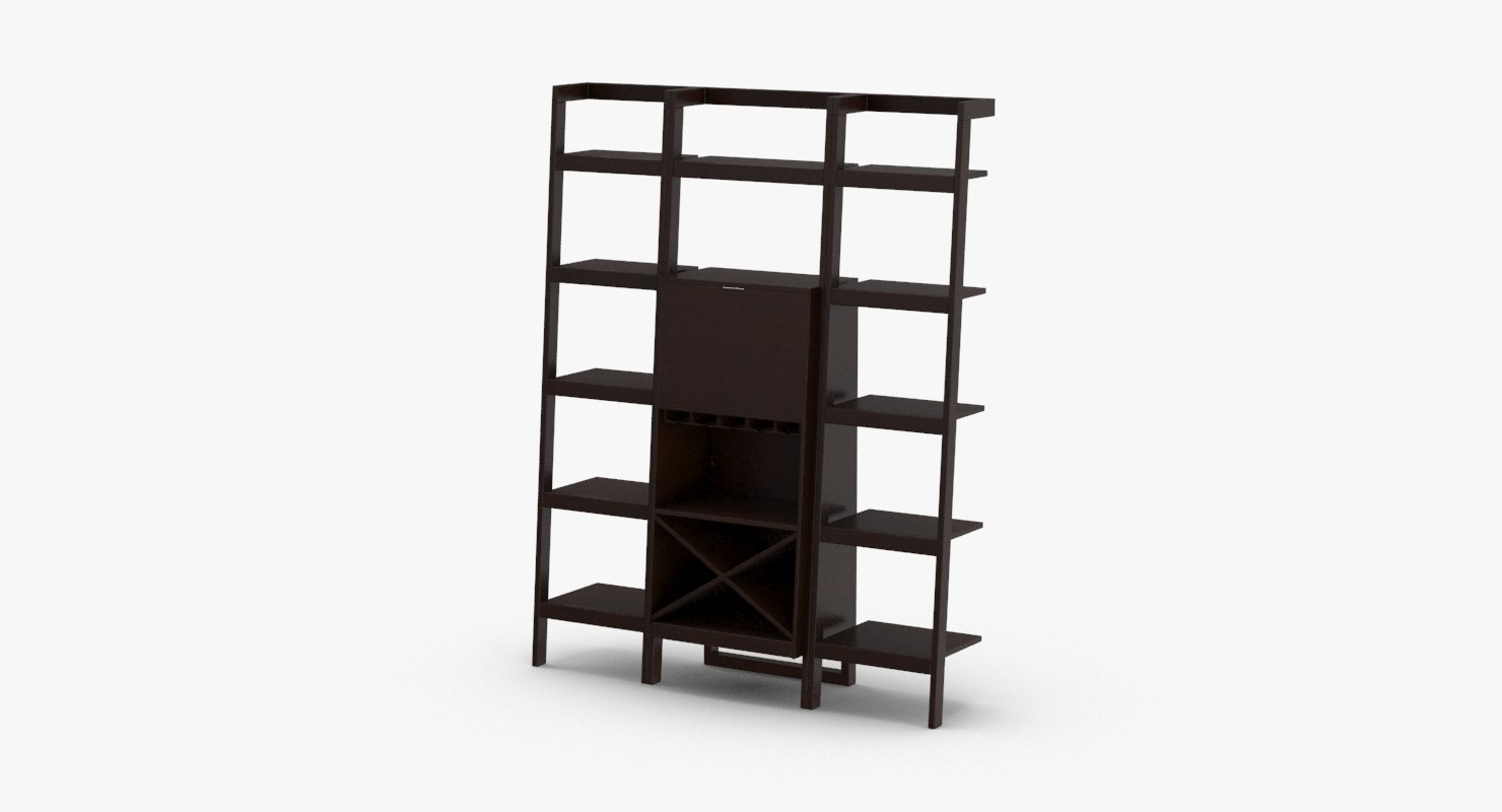contemporary-shelving-system 3D model