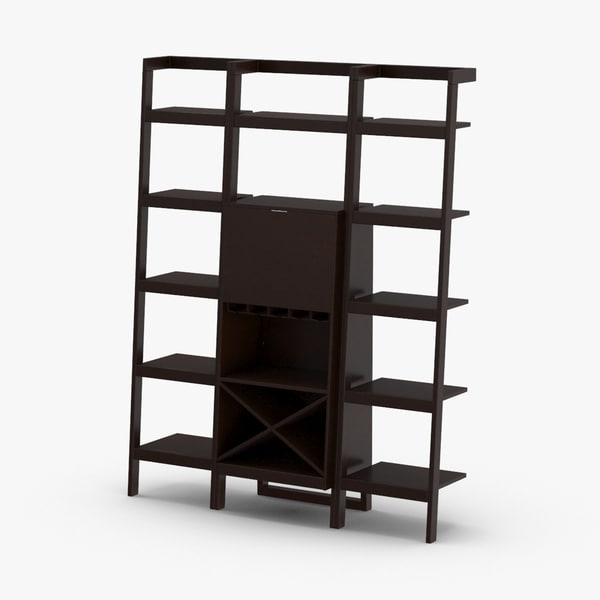 contemporary-shelving-system 3D model
