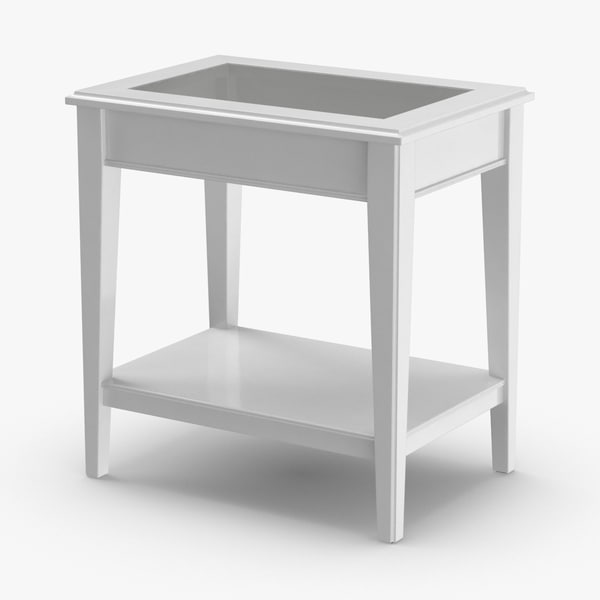 scandinavian-side-table 3D model