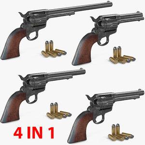 3D colt 1873 single action