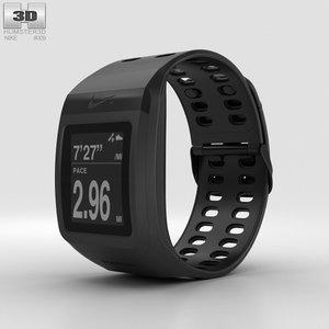 nike gps sportwatch 3D model